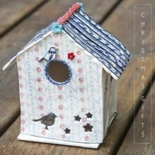 Katie Almond Ceramic Birdhouse