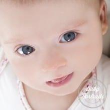 Face of a newborn baby