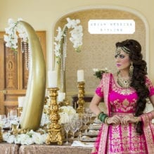 Asian Wedding Bride Styling